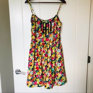 Summer Dress. Flowers